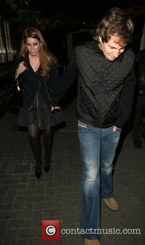Princess Beatrice and Dave Clarke 12