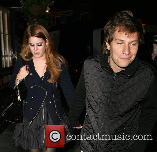 Princess Beatrice and Dave Clarke 9
