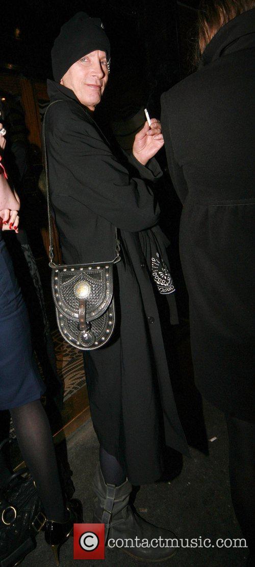Richard O'Brien at Boujis nightclub London, England