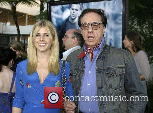 Peter Bogdanovich and guest 'The Bourne Ultimatum' World...
