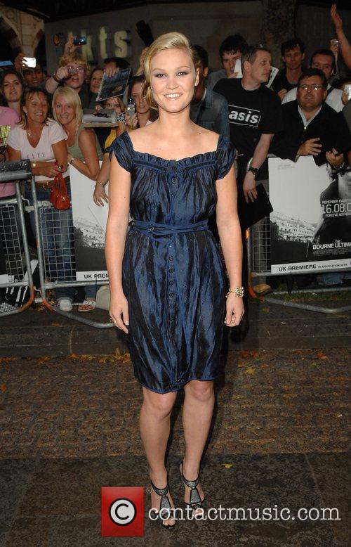 The UK premiere of 'The Bourne Ultimatum' held...