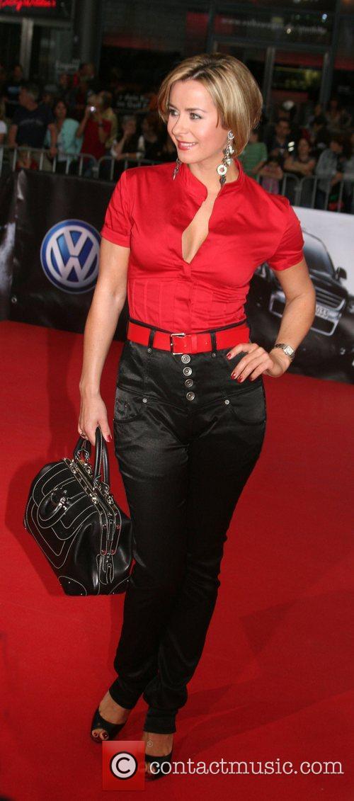 Bettina Cramer German premiere of 'The Bourne Ultimatum'...