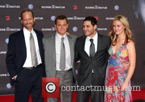 Matt Damon, Edgar Ramirez, Julia Stiles and guest...
