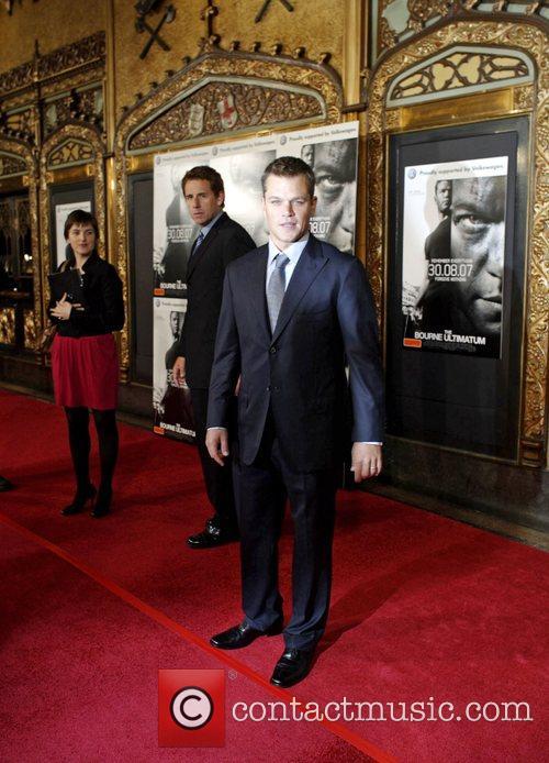 Matt Damon Bourne Ultimatum Premiere - Arrivals...