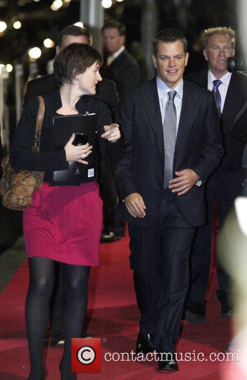 Bourne Ultimatum Premiere - Arrivals