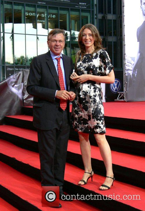 Sir Peter Tory and wife German premiere of...