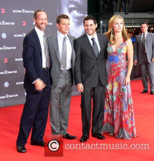 David Strathairn, Matt Damon, Edgar Ramirez and Julia...