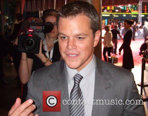 Matt Damon German premiere of