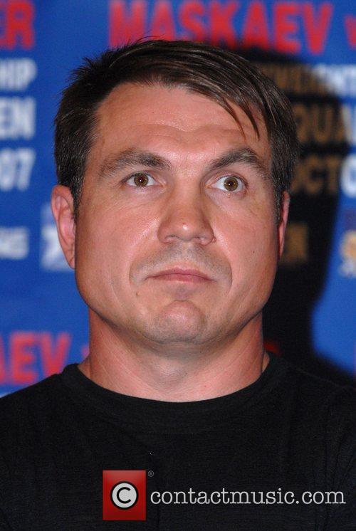 Oleg Maskaev  World Heavyweight Championship press conference....