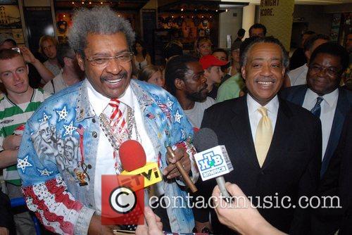 Don King World Heavyweight Championship press conference. WBC...