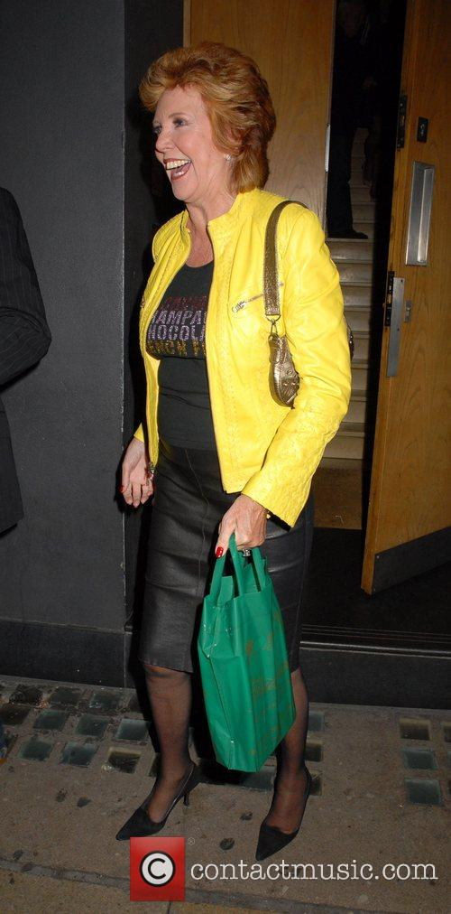 Leaving the book launch party of 'Wonderful Today:...