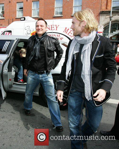 Mikey Graham, Keith Duffy and Ronan Keating 3