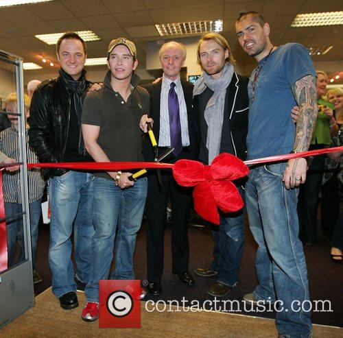 Mikey Graham, Keith Duffy, Ronan Keating and Shane Lynch 2