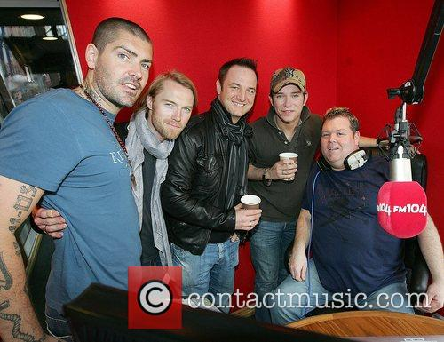 Mikey Graham, Keith Duffy, Ronan Keating and Shane Lynch 7