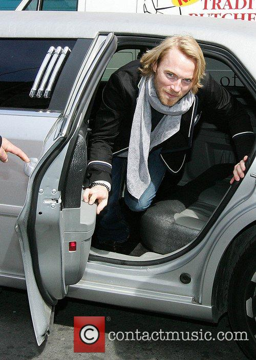 Ronan Keating from Boyzone arrive for the opening...