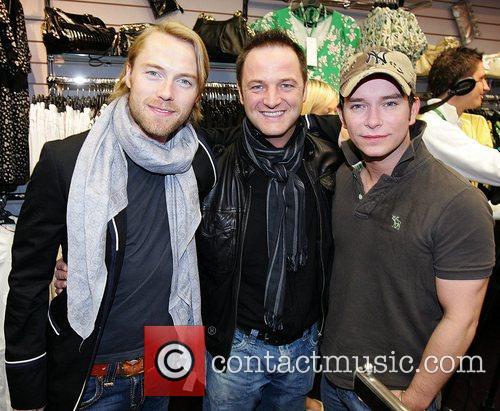 Ronan Keating and Keith Duffy 3