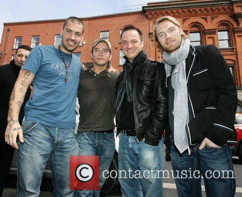 Shane Lynch, Keith Duffy and Ronan Keating 1