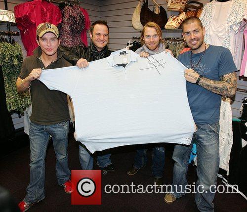 Stephen Gately, Keith Duffy, Ronan Keating and Shane Lynch 3