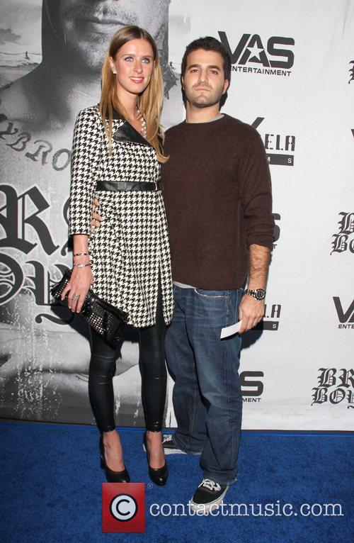 Nicky Hilton and David Katzenberg LA premiere of...