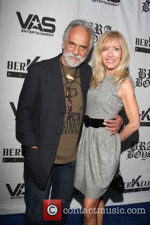 Tommy Chong and Shelby Chong LA premiere of...