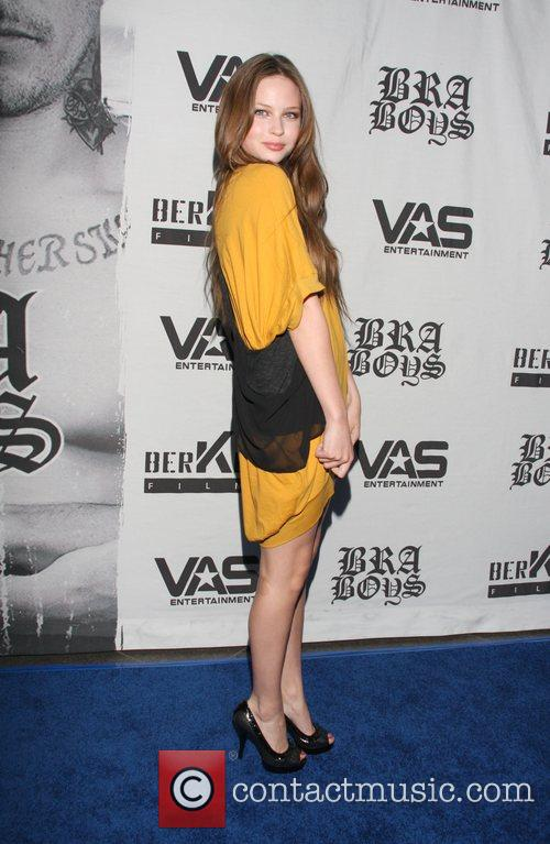 Daveigh Chase LA premiere of 'Bra Boys' held...