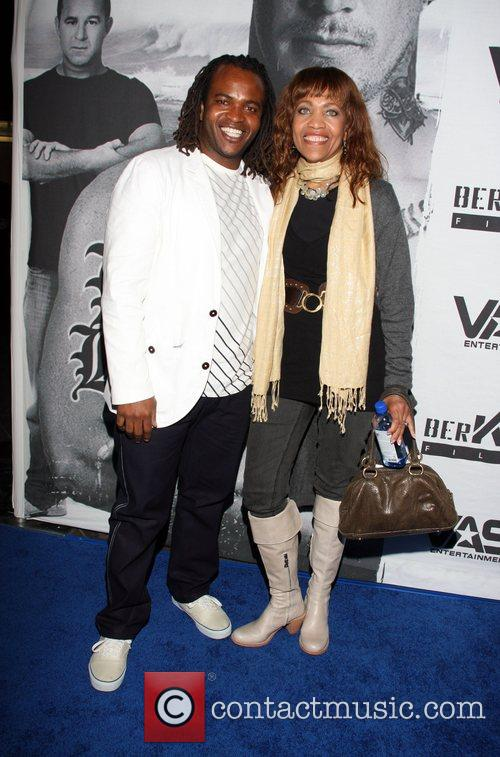 Sal Masekela and Jessy Rodriguez LA premiere of...