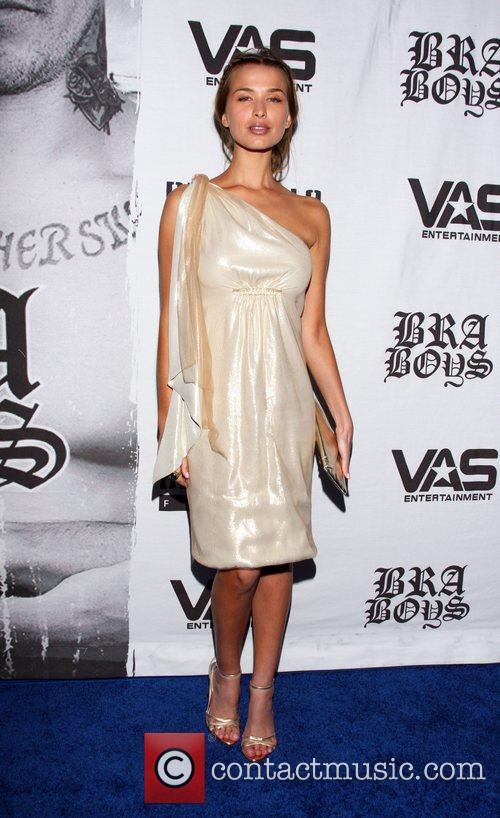 Tahyna Tozzi LA premiere of 'Bra Boys' held...