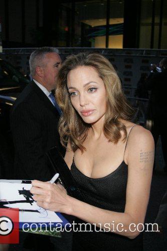 Angelina Jolie, Brad Pitt and Jesse James