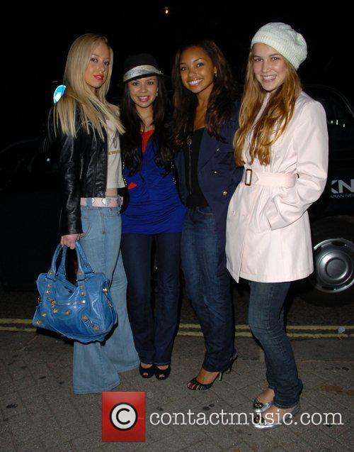 Skyler Shaye, Janel Parrish,Logan and Nathalia Ramos Browning...
