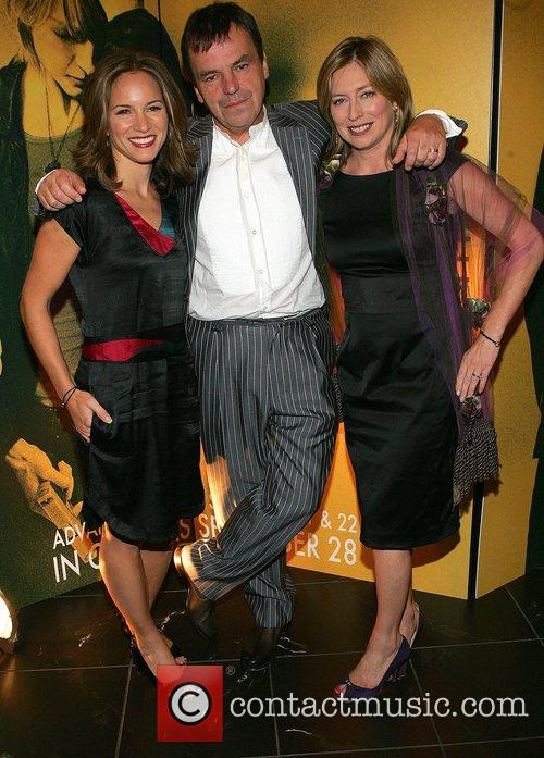 Susan Downey, Neil Jordan and wife Brenda Jordan...