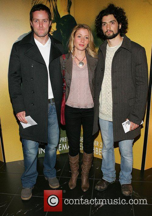 Pauraig Delaney, Krysten Peller and David Alpay Irish...
