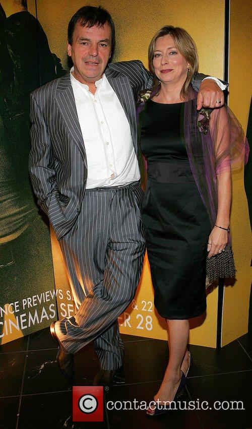 Neil Jordan and Brenda Jordan Irish premiere of...