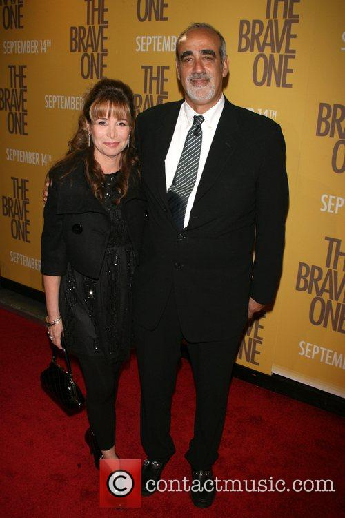 Herb Gaines and wife New York Premiere of...