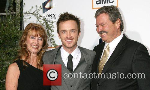 Aaron Paul and His Parents 4