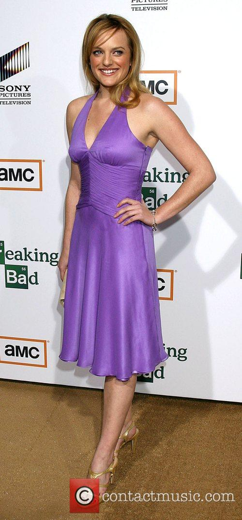 Elisabeth Moss Premiere of TV series 'Breaking Bad'...