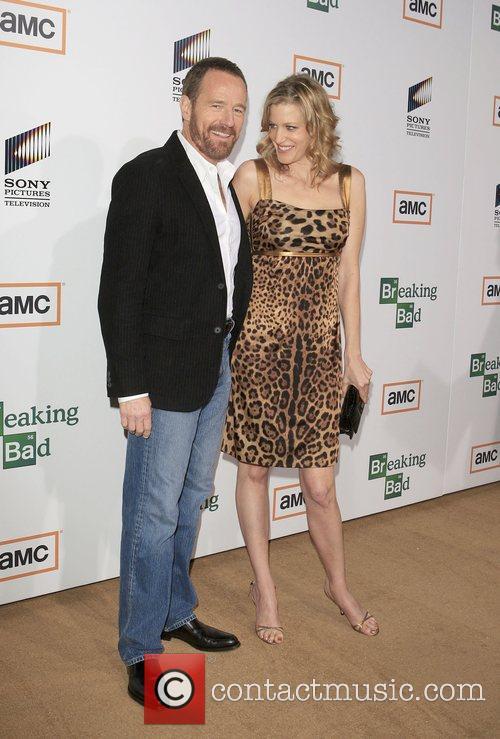 Bryan Cranston and Anna Gunn Premiere of TV...