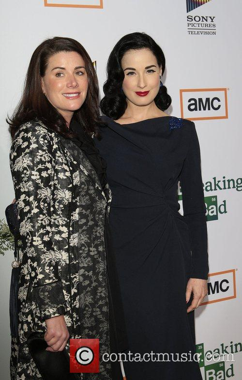 Dita Von Teese and guest Premiere of TV...