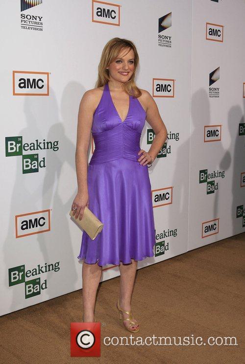 Elizabeth Moss Premiere of TV series 'Breaking Bad'...