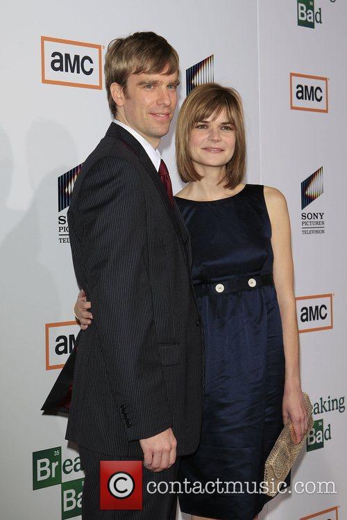 Grady Olsen and Betsy Brandt Premiere of TV...