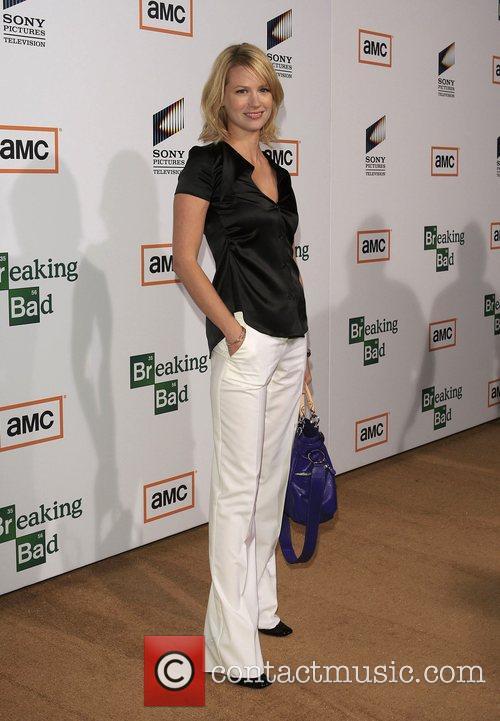 January Jones Premiere of TV series 'Breaking Bad'...