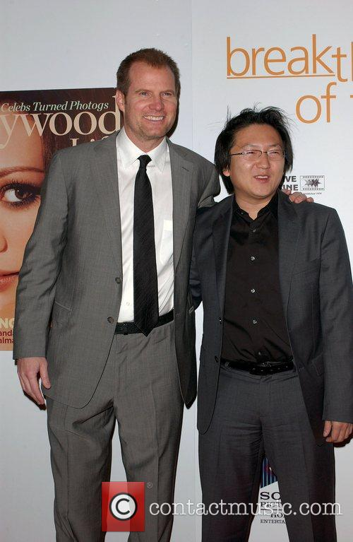Jack Coleman and Masi Oka Hollywood Life Magazine's...