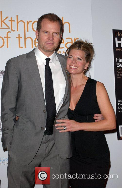 Jack Coleman and his wife Beth Toussaint Hollywood...