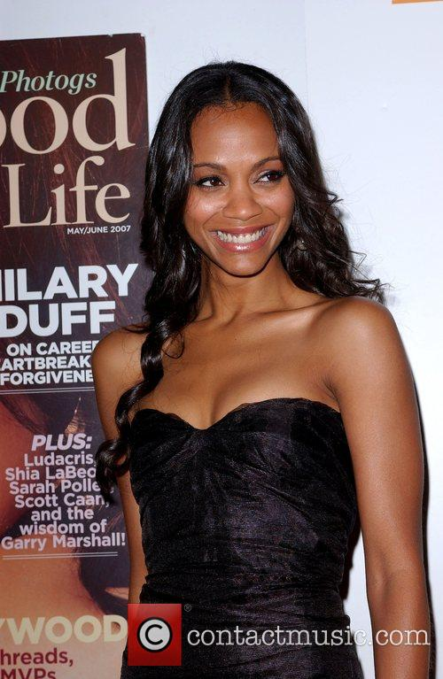 Zoe Saldana and The Music 7