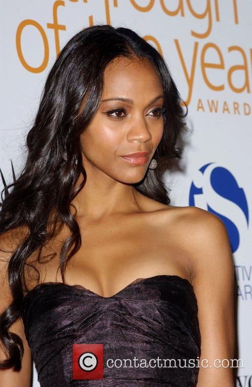 Zoe Saldana and The Music 6