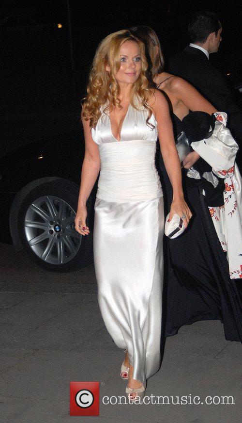 Geri Halliwell Breast Cancer Care 2007 Catwalk Fashion...
