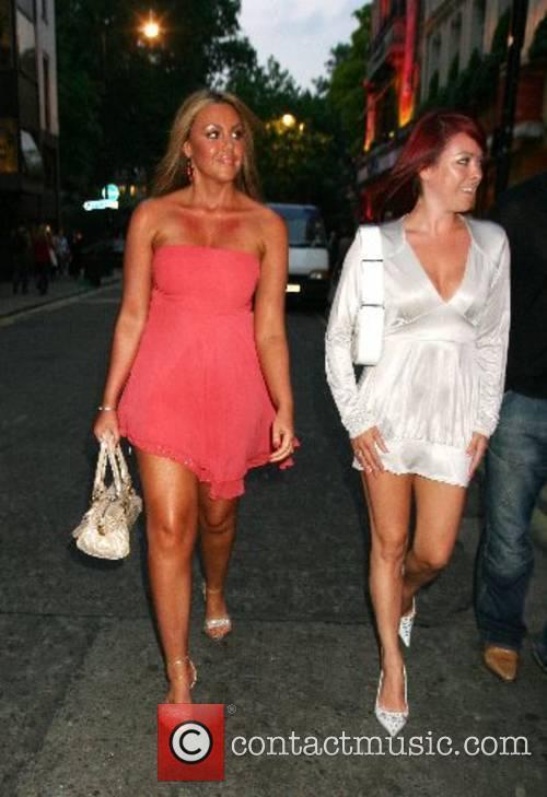 Michelle Heaton and Lisa Scott Lee A birthday...