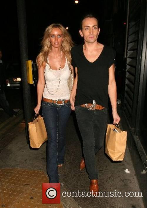 Lauren Pope and guest A birthday party for...