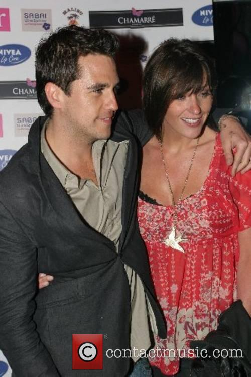 Anthony Kavanagh and Suranne Jones arrives at Brian...
