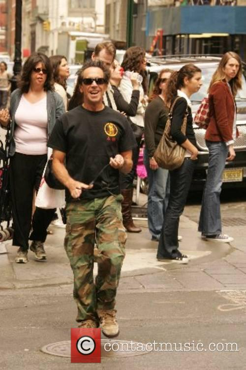 Hollywood heavy hitter Brian Grazer out and about...