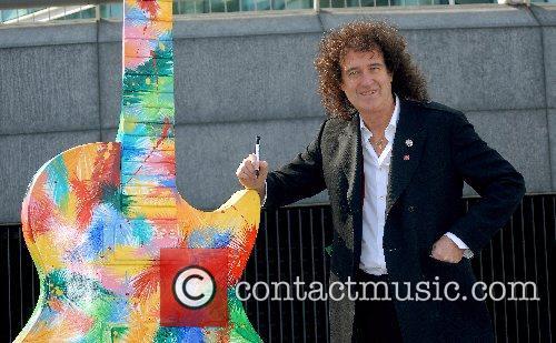 Brian May and Les Paul